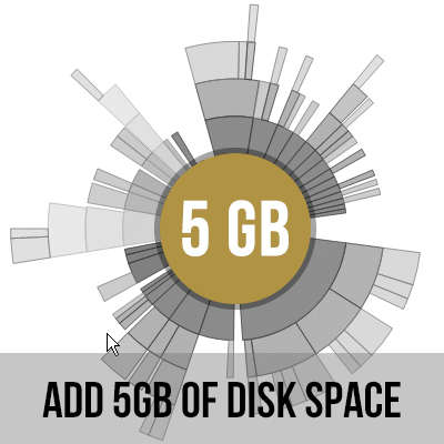 5GB of Disk Space (Add-on)